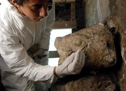 Czy archeologom uda się odkryć grobowiec władcy? /AFP