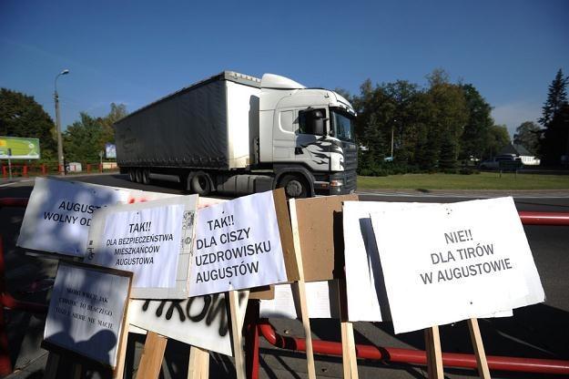 Czy Augustów doczeka się obwodnicy? / Fot: Michał Kość /Reporter