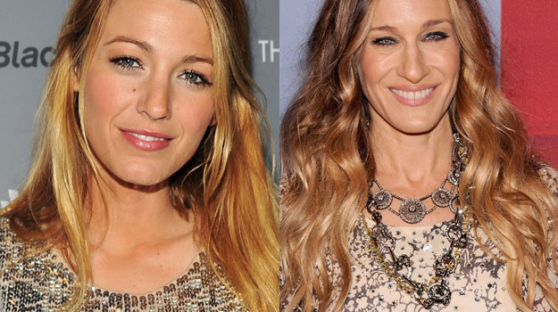 Czy Blake Lively (L) zagra młodszą Carrie Brashaw (P)? /Stephen Lovekin/Jamie McCarthy /Getty Images