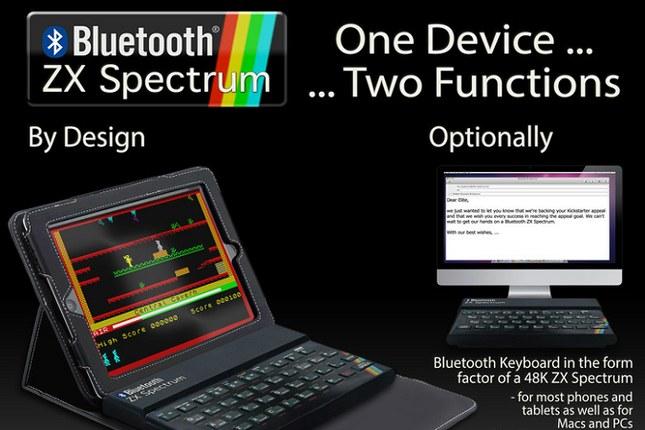 Czy Bluetooth ZX Spectrum zdobędzie serca internautów? /materiały prasowe