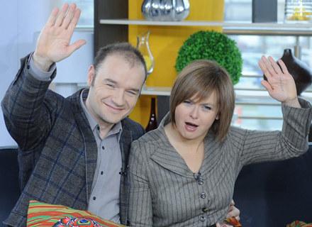 Czy Bożenka (Edyta Jungowska) będzie szczęśliwa z Ruudem (Redbad Klijnstra) / fot. Andras Szilagyi /MWMedia
