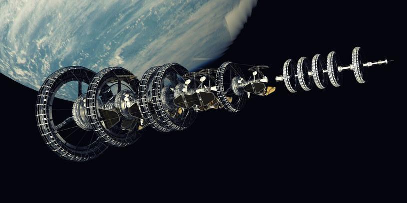 Czy budowa gigantycznych statków kosmicznych to tylko kwestia czasu? /123RF/PICSEL
