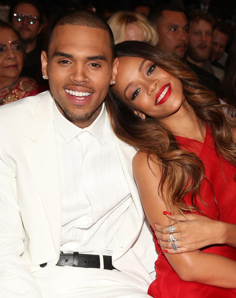 Czy Chris Brown jest powodem jej depresji? /Getty Images/Flash Press Media