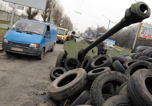 Czy cios w polską giełdę padnie ze Wschodu? /AFP