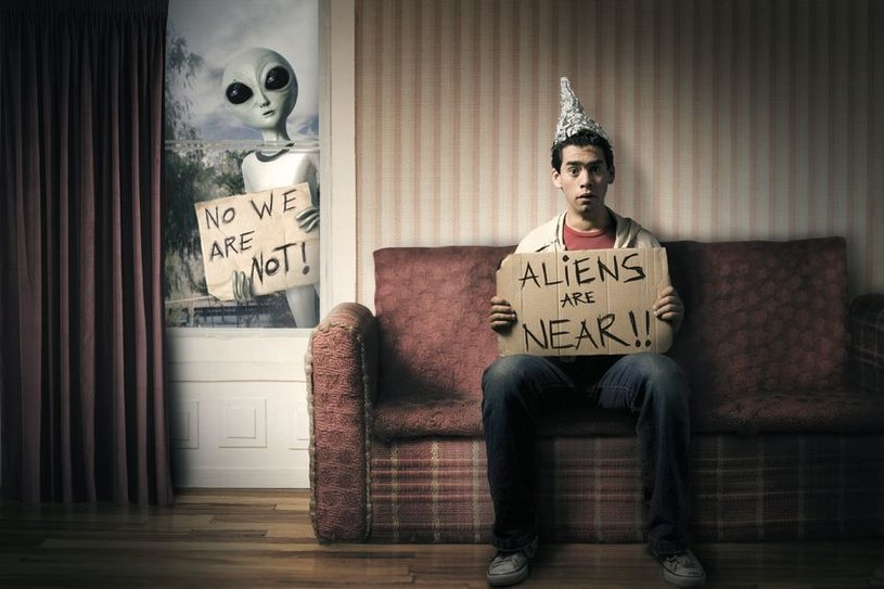 Czy cywilizacje pozaziemskie próbują się z nami skontaktować? /123RF/PICSEL