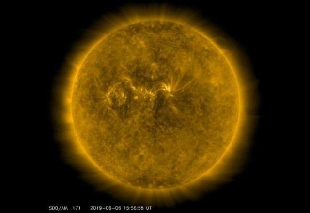 Czy czeka nas niedługo bardzo gwałtowne maksimum słoneczne? /NASA