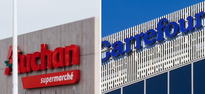 Czy dojdzie do fuzji sieci Carrefour i Auchan? /123RF/PICSEL