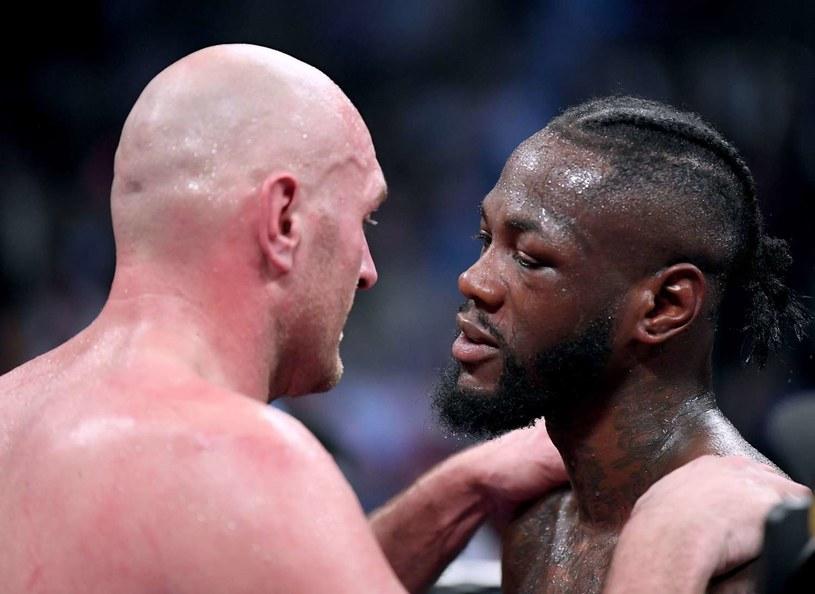 Czy dojdzie do rewanżu Tyson Fury - Deontay Wilder? /AFP