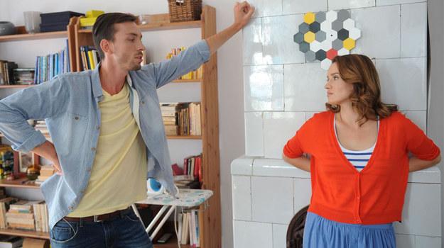 Czy Ewa i Piotrek dojdą do porozumienia w sprawie rozwodu i opieki nad synkiem? /Agencja W. Impact
