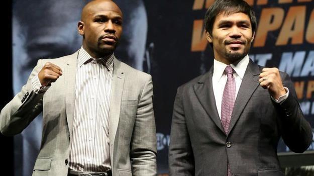 Czy Floyd Mayweather junior i Manny Pacquiao stoczą najlepszą walkę w historii boksu? /materiały prasowe