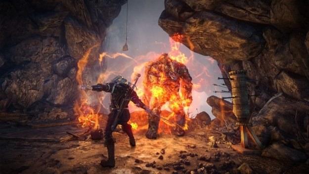 Czy Geralt osiągnie porównywalny sukces na rynku konsolowym? /Informacja prasowa