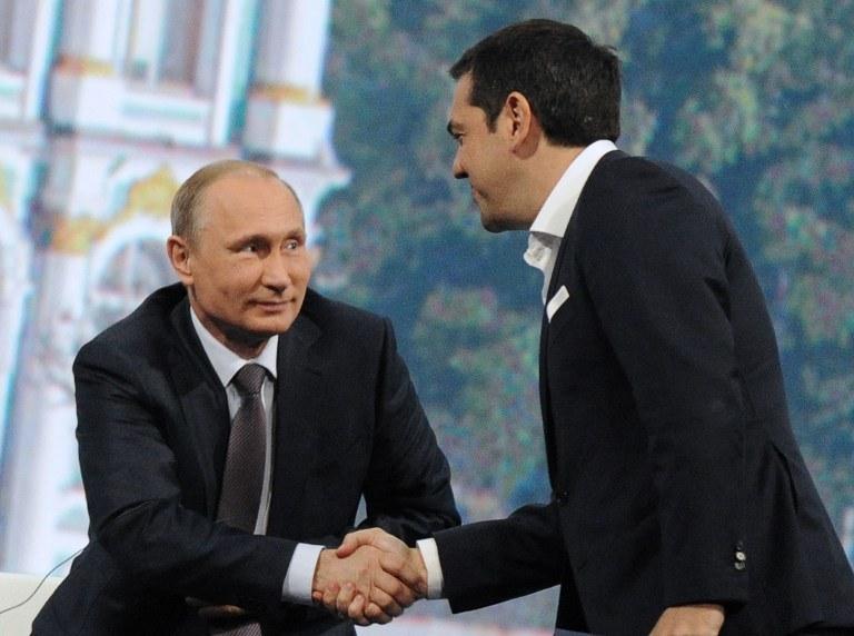Czy Grecja może zwrócić się w stronę Rosji? /OLGA MALTSEVA / AFP /AFP