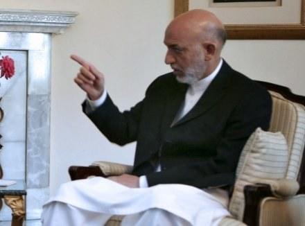 Czy Hamid Karzaj zachowa fotel prezydenta? /AFP