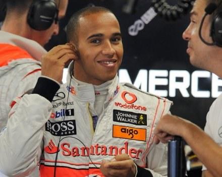 Czy Hamilton będzie po wyścigu cieszył się z tytułu? /AFP