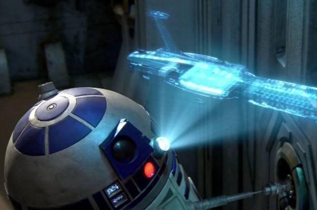 """Czy hologramy za 12 lat będą przypominać te z """"Gwiezdnych wojen""""? /HDTVmania.pl"""