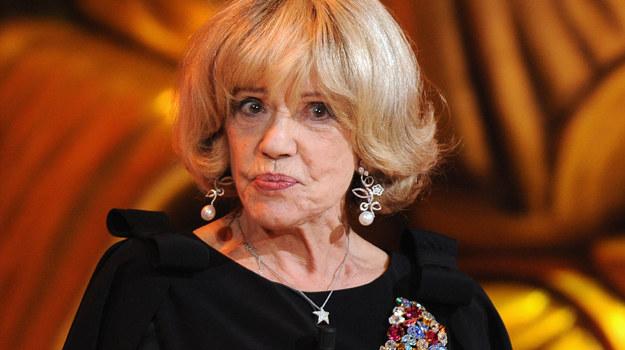 Czy Jeanne Moreau zgodzi się zagrać Liliane Bettencourt - dziedziczkę L'Oreala /fot. P. Le Segretain /Getty Images/Flash Press Media