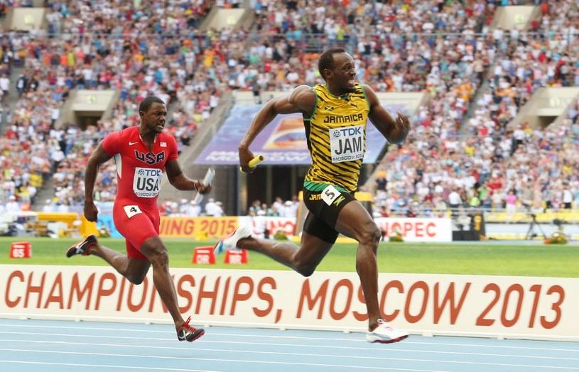Czy Justin Gatlin prześcignie Usaina Bolta? /AFP