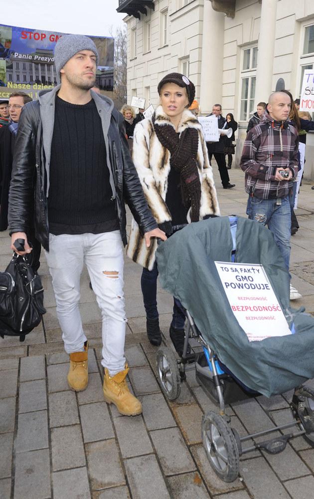 Czy już niedługo Doda i Błażej Szychowski zostaną rodzicami? /Jarosław Antoniak /MWMedia