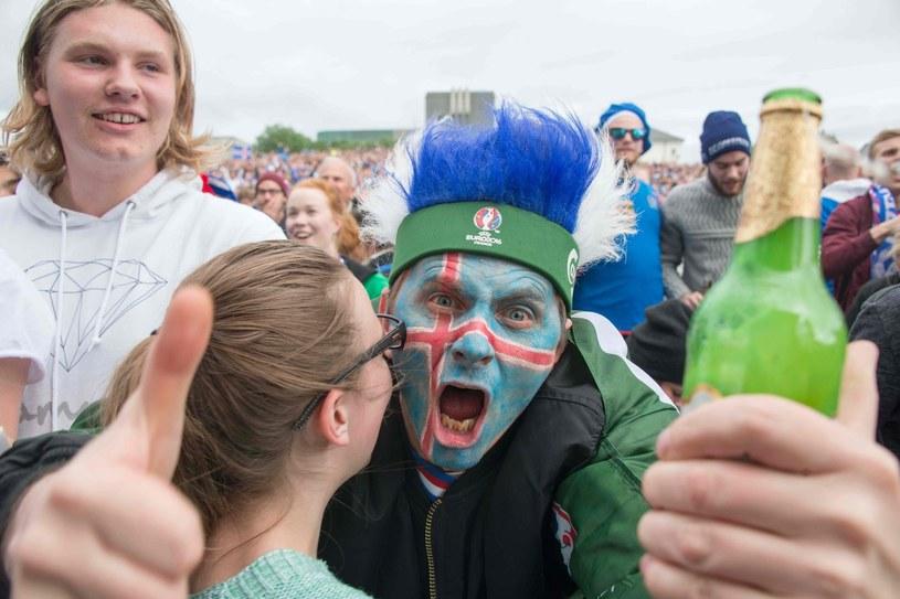 Czy kibice Islandii znów będą mieli powody do radości /AFP
