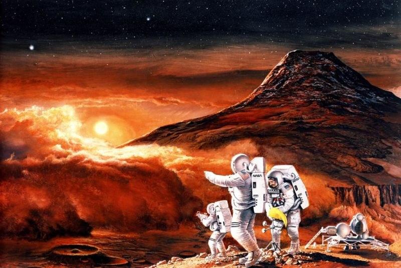 Czy kiedyś zbudujemy miasto na Marsie? /NASA