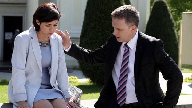 Czy Kinga naprawdę wcieli słowa w czyn i rozwiedzie się z Piotrkiem? /www.mjakmilosc.tvp.pl/