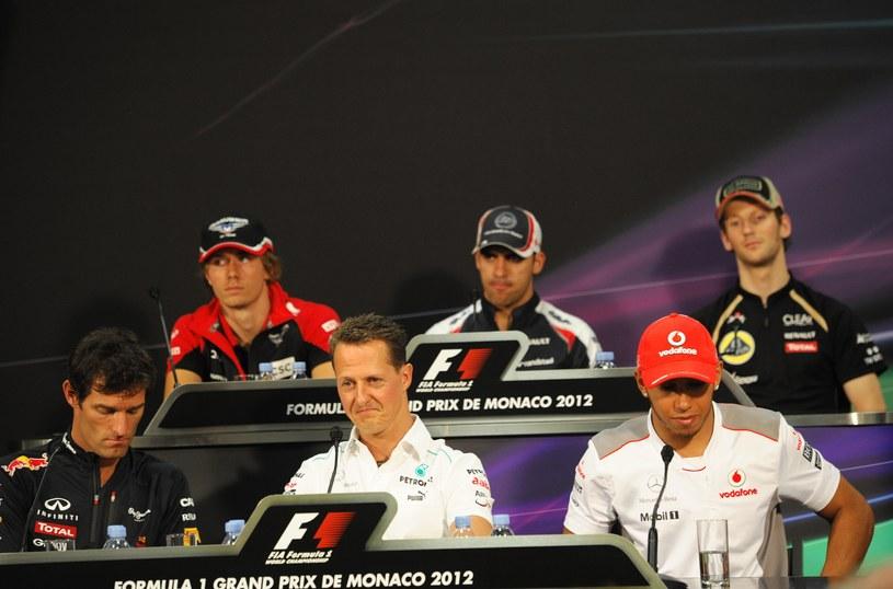 Czy któryś z tych kierowców wygra GP Monaco? /AFP