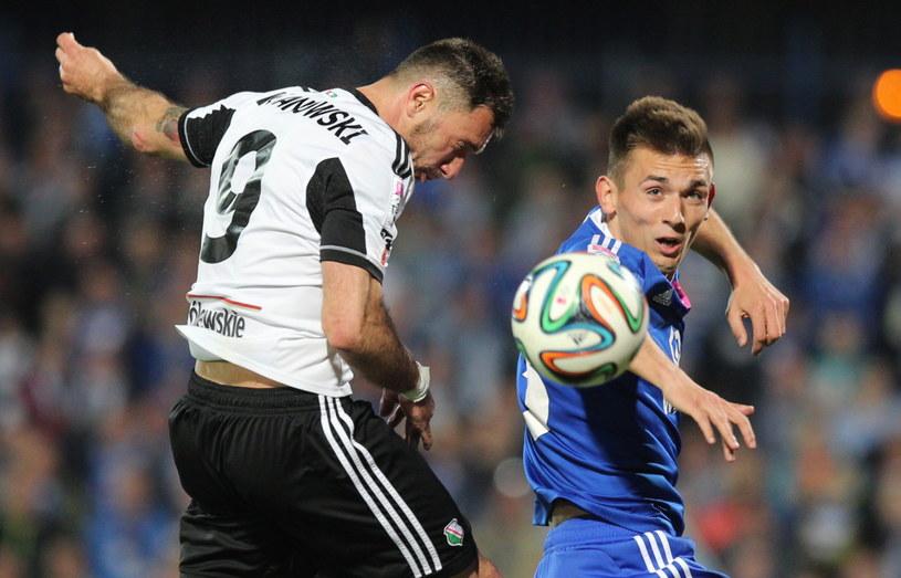 Czy Legia obroni pozycję lidera Ekstraklasy? /Fot. Andrzej Grygiel /PAP