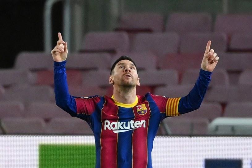 Czy Lionel Messi poprowadzi Barcelonę do triumfu w Pucharze Hiszpanii? /AFP