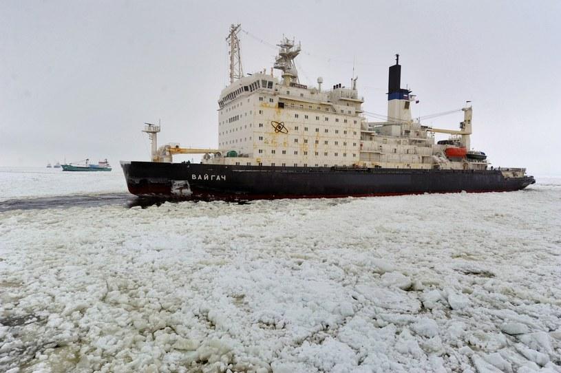 Czy lodołamacze takie jak rosyjski Vaigach będą stałym widokiem na morzach i oceanach po 2021? /East News