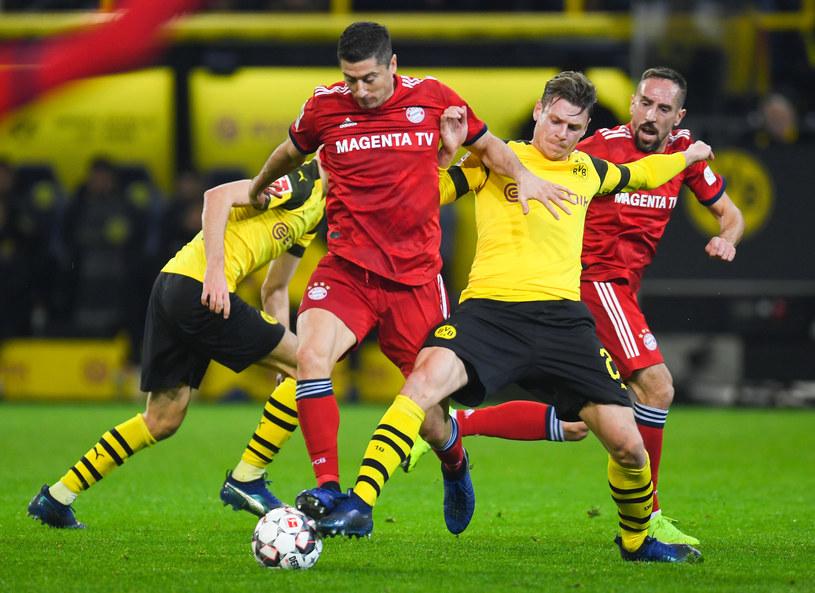Czy Łukasz Piszczek i spółka zdetronizują Bayern Monachium? /AFP