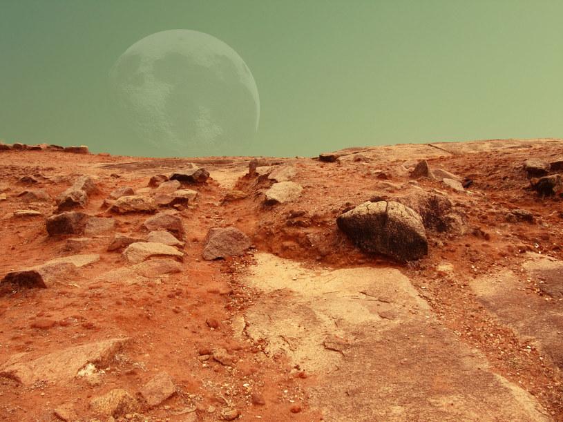 """Czy Mars jest rzeczywiście """"wybawieniem"""" dla ludzkości? /123RF/PICSEL"""