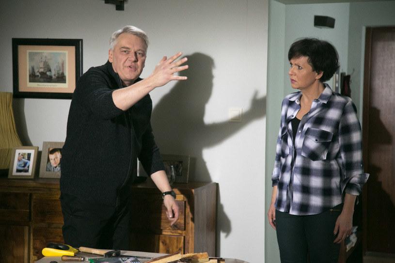 Czy Marysia (Małgorzata Pieńkowska) będzie w stanie jeszcze zaufać Bilskiemu? Okaże się po wakacjach /Agencja W. Impact