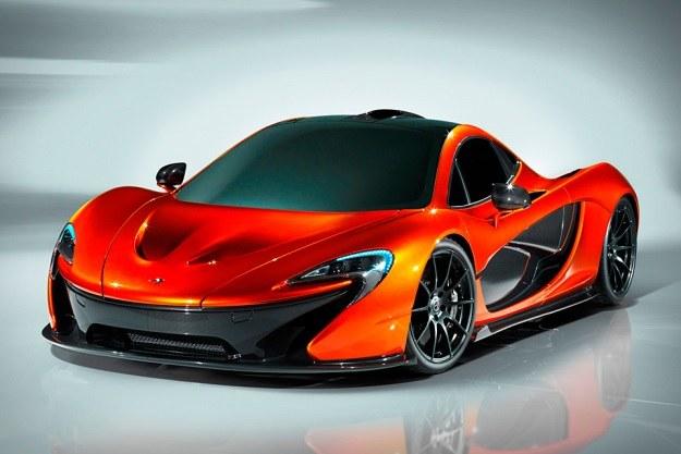 Czy mechaniczne wycieraczki wkrótce znikną z takich samochodów, jak McLaren P1? /materiały prasowe