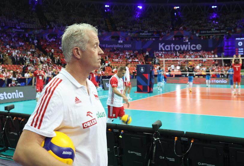 Czy mecz z Serbią będzie pożegnaniem Vitala Heynena z polską kadrą? /PAP/Andrzej Grygiel    /PAP