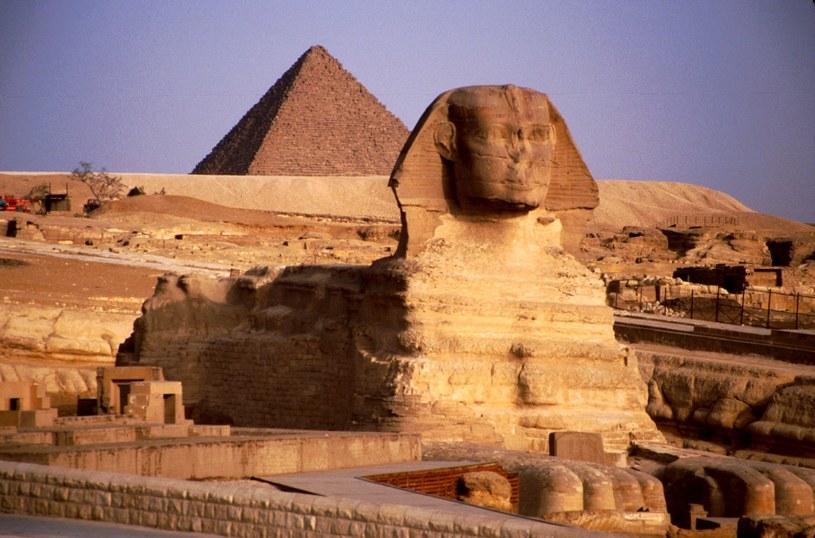 Czy między Sfinksem a jedną z najsłynniejszych piramid ukryto tajemniczą komnatę? /East News
