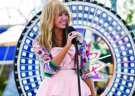 Czy Miley Cyrus czeka kariera na miarę Daniela Radcliffe'a? - fot. ForumFilm /