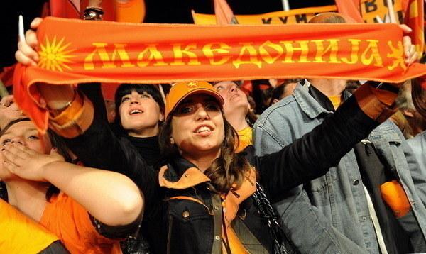 Czy mistrzem Macedonii zostaną piłkarze FK Horizont Turnovo? /AFP