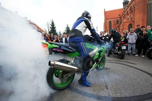 Czy motocykliści to szaleńcy? / Fot: Krzysztof Korczak /Reporter