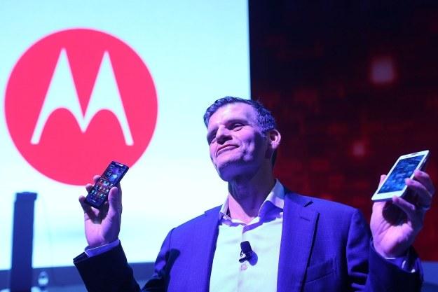 Czy Motorola pomoże Lenovo zaistnieć w Europie? /AFP