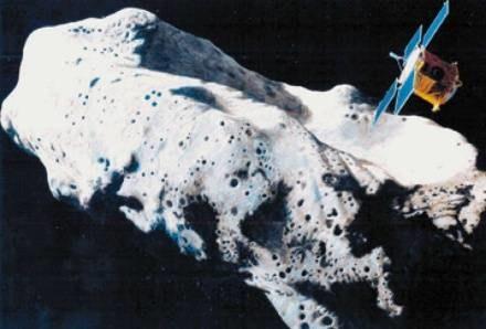 Czy możliwe jest lądowanie na mknącym w kosmosie asteroidzie? /AFP