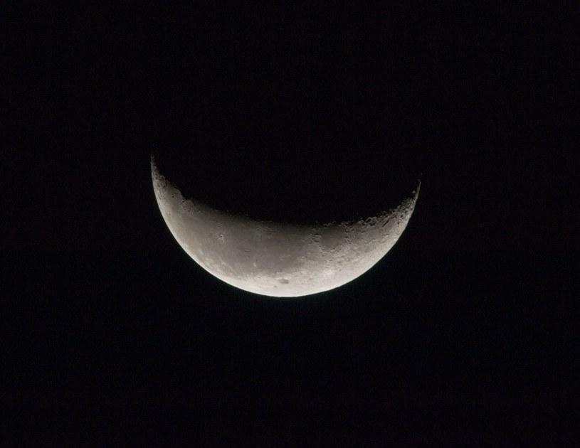 Czy na Księżycu jest woda? /NASA