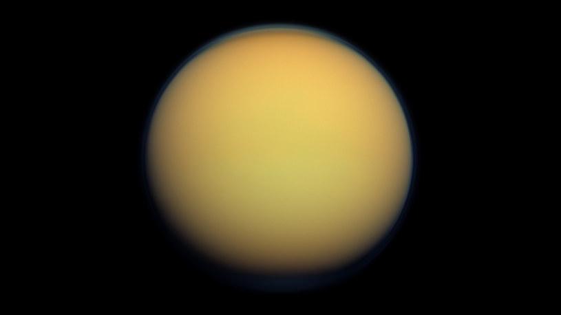Czy na Tytanie ukrywa się życie? /NASA