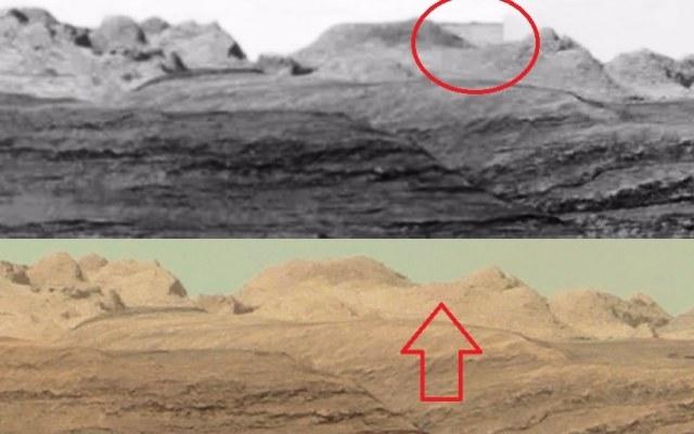 Czy NASA celowo usuwa ze zdjęć Marsa dowody na istnienie tam niegdyś zaawansowanej cywilizacji? /Innemedium.pl