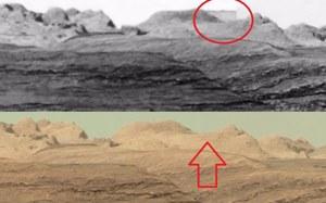 Czy NASA wymazała budynki ze zdjęć z marsjańskiego łazika Curiosity?