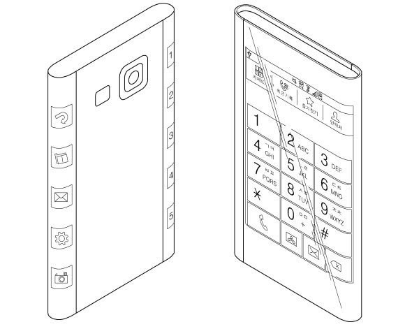 Czy nowy wniosek patentowy Samsunga to zapowiedź elastycznego ekranu w Galaxy S6? /materiały prasowe