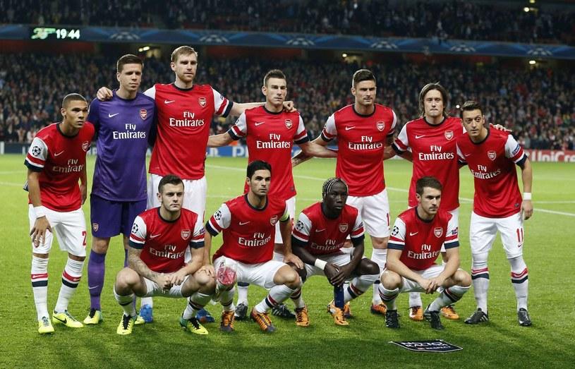 Czy obecny Arsenal stać na zdobycie mistrzostwa Anglii? /AFP