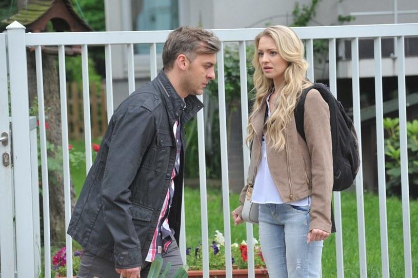 Czy ostatecznie Joanna zdoła przekonać Darka do swoich racji i do siebie wrócą? /Agencja W. Impact