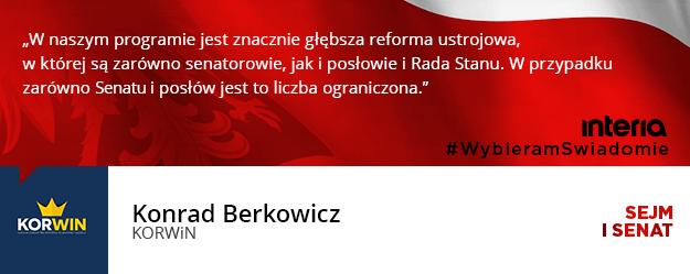Czy państwa ugrupowanie przewiduje likwidację Senatu i ograniczenie liczby posłów do Sejmu? /INTERIA.PL