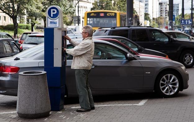 Czy parkomaty inwigilują kierowców? / Fot: Andrzej Stawinski /Reporter
