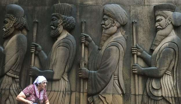 Czy perskie kanały są rzeczywiście zakłócane? /AFP